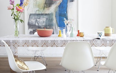 Houzz Tour: A Single Painting Births a Home's Whole Palette