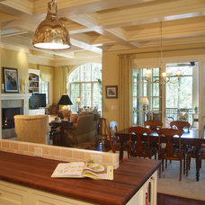 traditional dining room by McSpadden Custom Homes