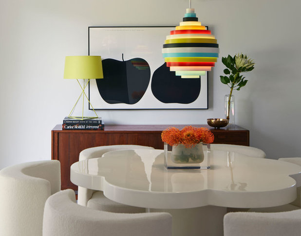 Midcentury Dining Room by Alison Damonte Design