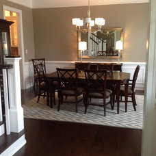 Traditional Dining Room by The Vertical Connection Carpet One Floor and Home