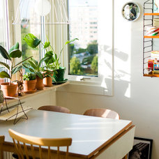 Eclectic Dining Room by Hilda Grahnat
