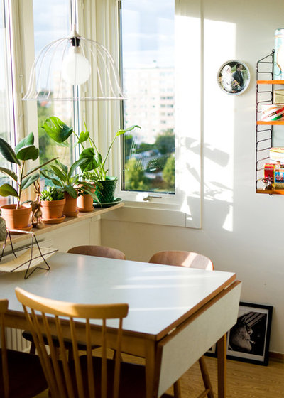 Midcentury Dining Room by Hilda Grahnat