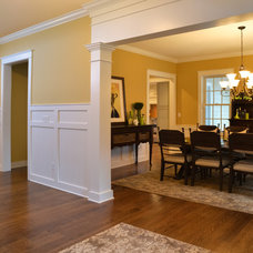 Traditional Dining Room by The Lewes Building Company