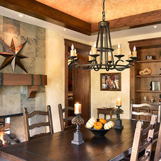 Traditional Dining Room by Sopher Sparn Architects LLC