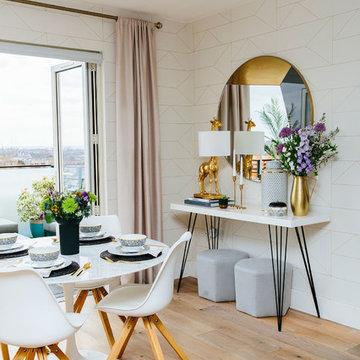Elegant & Airy Dining Room