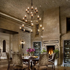 Traditional Dining Room by Eldorado Stone