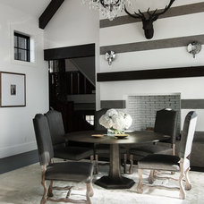 Contemporary Dining Room by Kristin Rocke