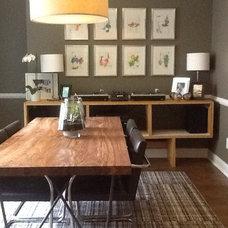 Modern Dining Room by Dawn Trimble Studio