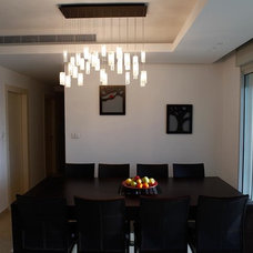 Modern Dining Room by Galilee Lighting