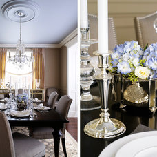 Contemporary Dining Room by Laura Stein Interiors