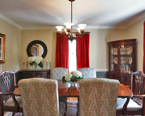 Traditional Dining Room by Olga Adler