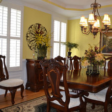 Traditional Dining Room by Priester's Custom Contracting, LLC