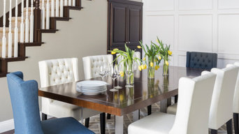 Elegant Living Spaces with luxurious details