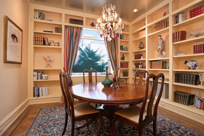 Traditional Dining Room by Ruth Kintzer Interior Design
