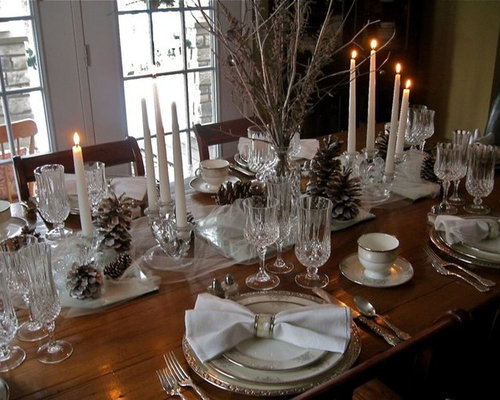 Elegant tablescape home design ideas pictures remodel for Dining room tablescapes ideas