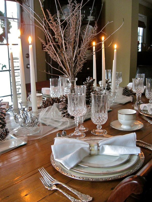 elegant tablescape home design ideas, pictures, remodel and decor