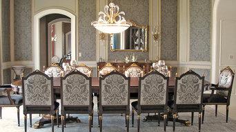 Elegant Traditional Dining Room Remodel