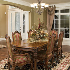 Traditional Dining Room by John Hall Homes