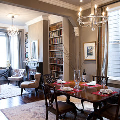 traditional dining room by Architect Mason Kirby Inc.