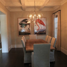 Beach Style Dining Room by Elite Homes, Inc.