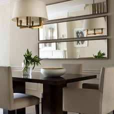 Transitional Dining Room by Stacy Vazquez-Abrams: Photographer