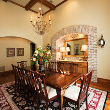 Traditional Dining Room by Terry M. Elston, Builder
