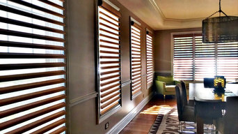 Elmhurst Dining Room with Pirouettes by Hunter Douglas
