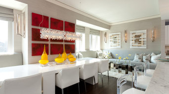 Elysian Residence: Table in Kitchen