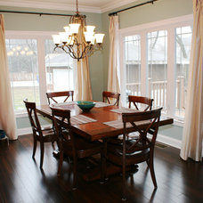 Traditional Dining Room by Studio21 Architects