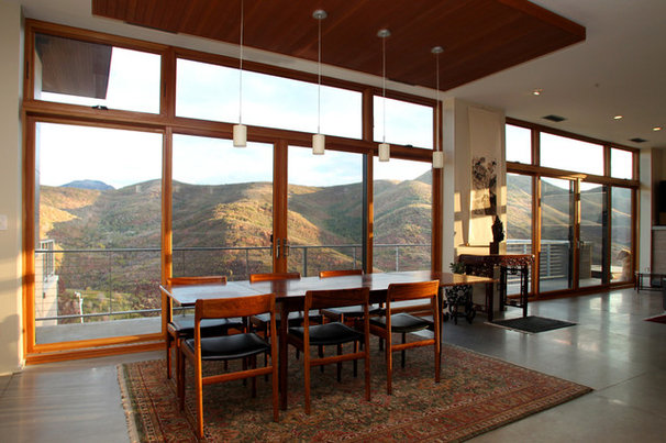 Modern Dining Room by Avatar Design Group