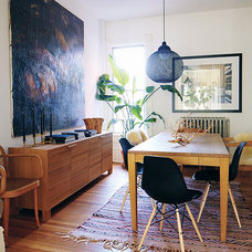 modern dining room by The Marion House Book