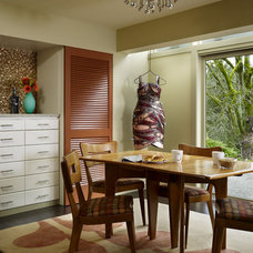 Midcentury Dining Room by Hilary Young Design Associates
