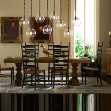 Mediterranean Dining Room by Zin Home
