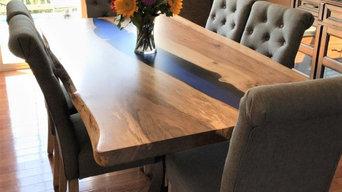English Walnut River Table