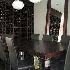 Contemporary Dining Room by Adriana Aristizabal