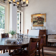 Traditional Dining Room by Kate Jackson Design