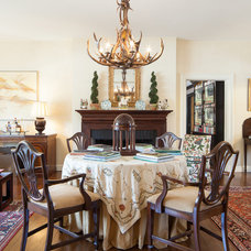 Traditional Dining Room by Jacob Hand Photography