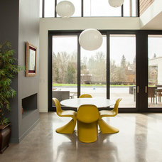Modern Dining Room by Whitney Lyons