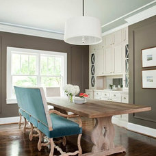 Traditional Dining Room by TerraCotta Properties