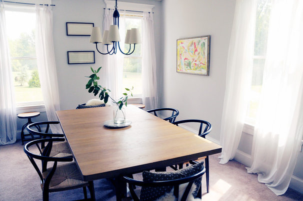 Farmhouse Dining Room by House of Earnest