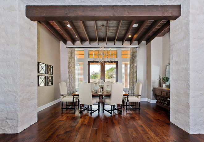 Contemporary Dining Room by Kelle Contine Interior Design, LLC