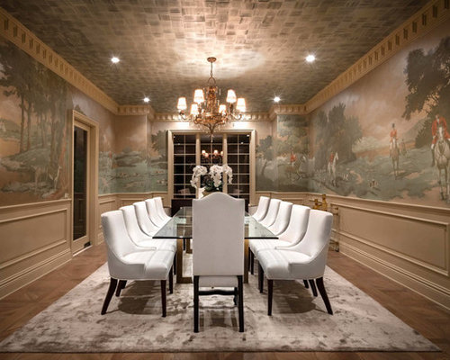 Houzz Traditional Dining Room Design Ideas Remodel Pictures