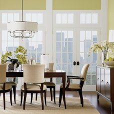 Transitional Dining Room by Ethan Allen