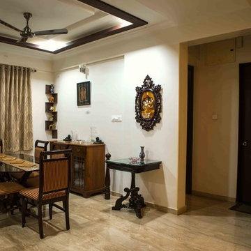 Ethnic apartment interiors