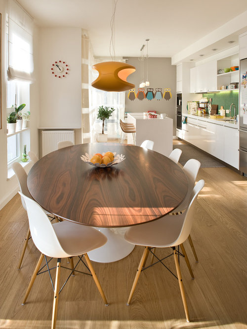 Oval Dining Table Modern Houzz