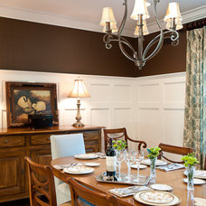 Traditional Dining Room by Town & Country Kitchen and Bath
