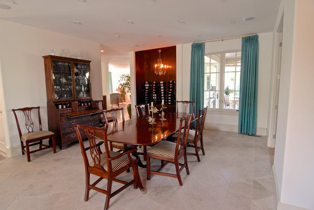 Traditional Dining Room by Brenda Olde