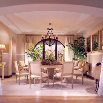 European Eclectic Spa Style