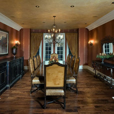 Traditional Dining Room by Interiors by Mary Susan