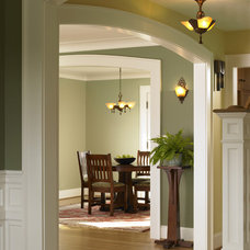 Traditional Dining Room by Goforth Gill Architects